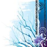 De Winter van de bloem royalty-vrije illustratie