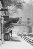 2017 de winter van de de Wintersneeuw landsczpe Royalty-vrije Stock Foto's