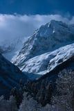 De winter van de Kaukasus Royalty-vrije Stock Foto