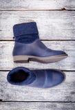 De winter van de schoenenvrouw Royalty-vrije Stock Afbeelding