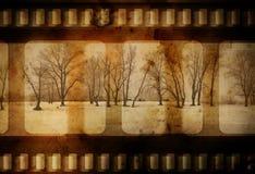 De winter van Grunge Royalty-vrije Stock Foto's