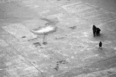 De Winter van Londen Stock Afbeeldingen