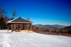 De winter van New England Stock Foto's