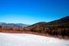 De winter van New England Stock Afbeeldingen