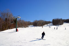 De winter van New England Stock Fotografie