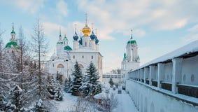 De winter van Rostovveliky royalty-vrije stock fotografie