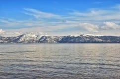 De winter van Tahoe stock fotografie