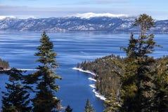 De Winter van Tahoe van het meer stock foto
