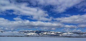 De winter van Transylvanian Royalty-vrije Stock Foto's