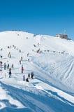 De winter van Wierch van Kasprowy. Stock Foto
