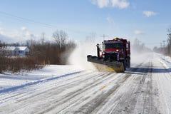 De winter in Westelijk New York stock afbeelding