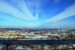 De winter in Wien Stock Afbeeldingen