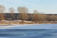 De winter, winter-getijde, wintertijd Stock Foto