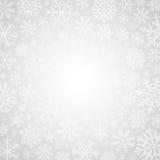 De winter witte achtergrond Royalty-vrije Stock Afbeelding
