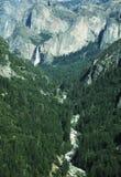 De winter in Yosemite Royalty-vrije Stock Foto's