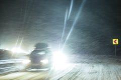De winter Zware Sneeuw royalty-vrije stock foto