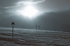 De winter in Zweden Royalty-vrije Stock Fotografie