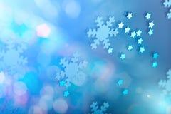 De winterachtergrond Stock Afbeeldingen