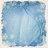 De winterachtergrond Royalty-vrije Stock Fotografie