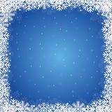 De winterachtergrond Royalty-vrije Stock Afbeelding