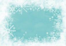 De winterachtergrond met sneeuwvlokken voor uw eigen verwezenlijkingen vector illustratie