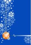 De winterachtergrond van de vakantie Stock Foto's