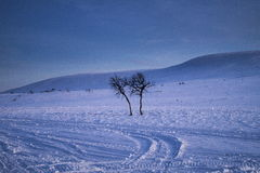 De winterberg Royalty-vrije Stock Foto