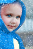 De winterdame Stock Foto