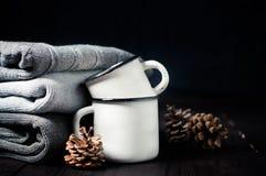 De winterdecor stock foto's