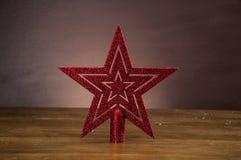 De winterdecoratie met Kerstmismateriaal Stock Afbeeldingen