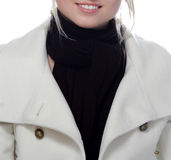 De winterglimlach van Nice Stock Fotografie
