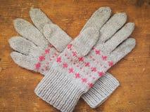 De winterhandschoenen Royalty-vrije Stock Afbeelding