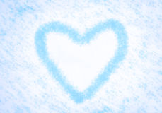 De winterhart Royalty-vrije Stock Afbeeldingen