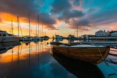 De winterhaven Stock Afbeelding