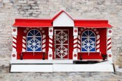 De winterhuis Royalty-vrije Stock Afbeeldingen