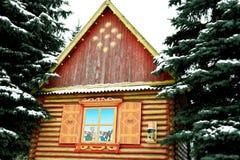 De winterhut Stock Fotografie