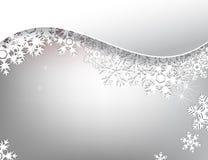 De winterkaart Stock Afbeelding
