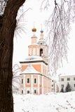 De winterkerk Royalty-vrije Stock Foto's