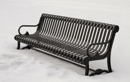De Winterkoude en Sneeuw van Verenigde Staten Extreme Stock Foto