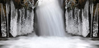 De winterkreek Royalty-vrije Stock Foto's