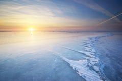 De winterlandschap Stock Afbeelding