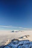 De winterlandschap dichtbij Garmisch, Zugspitze, Duitsland Royalty-vrije Stock Afbeeldingen