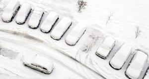 De winterlandschap op meer Baikal, Siberië, Rusland Stock Foto