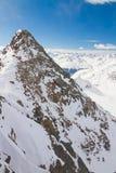 De winterlandschap in Tirol Royalty-vrije Stock Afbeelding