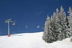 De winterlandschap van Oostenrijk Royalty-vrije Stock Foto's