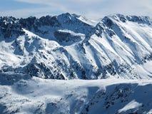 De winterlandschap van Todorka-piek, Bulgarije Royalty-vrije Stock Afbeelding