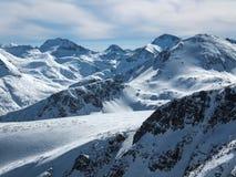 De winterlandschap van Todorka-piek, Bulgarije Royalty-vrije Stock Fotografie
