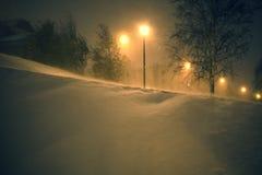 De winterlichten Royalty-vrije Stock Afbeelding
