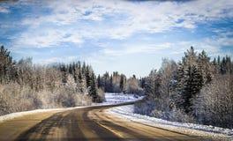 De wintermening van het autoraam stock foto's