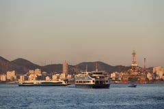 De wintermiddag in Rio de Janeiro, Brazilië Royalty-vrije Stock Foto